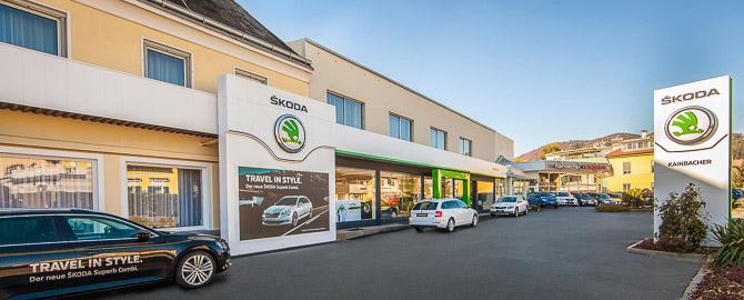 Autohaus Kainbacher - Ihr Skoda Partner für den Bezirk Voitsberg - Skoda-Neuwagen, Gebrauchtfahrzeuge, Kundendienst für alle Marken und Ersatzteile